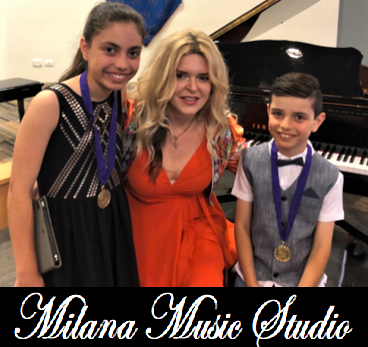 Milana Music Studio Student